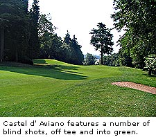 Castel d' Aviano Golf Club