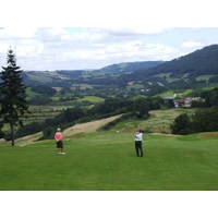 A view of the Montgomerie course at Ryder Cup host Celtic Manor Resort in Wales.