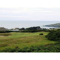 Cardigan Golf Club plays high above the sea and is more wide open than some other Wales links.