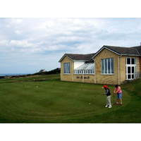 A view of Cardigan Golf Club in south Wales.