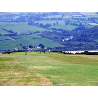 There are great views from just about anywhere on the course at Cardigan Golf Club in south Wales.