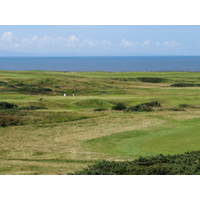 A view of Wales' most prestigious links: Royal Porthcawl.