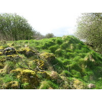 Mt. Temple Golf Club, Moate, Ireland, has the remnants of a Norman fort.