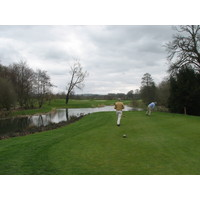 PGA National Ireland, County Kildare, has 40 acres of water.