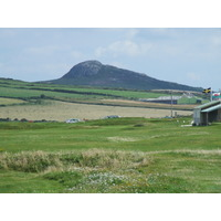 A view of St. David's City Golf Club in southwest Wales.