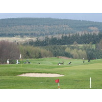 Powerscourt Golf Club, County Wicklow, has moderate elevation changes.