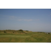 The Church Course at St. Enodoc Golf Club finishes with a long, uphill par 4.
