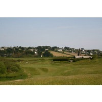The par-4 10th hole is the most difficult hole on St. Enodoc Golf Club's Church Course.