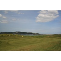 Conwy Golf Club in North Wales features many sea views from greens like the par-5 eighth.