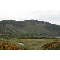 Conwy Golf Club in North Wales features steep mountain backdrops.