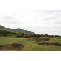 Conwy Golf Club features over 80 bunkers and all are steep-faced.