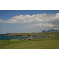 Holes two through five play right along the coastline at Nefyn & District.