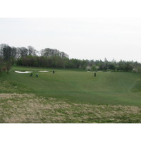 No. 8 on the A nine at Simons Golf Club in Humelbaek, Denmark.