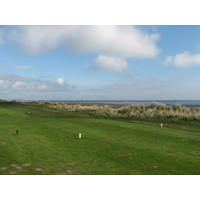 Laytown and Bettystown Golf Club, County Meath, Ireland, has long par 3s and blind shots.