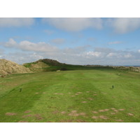 Laytown and Bettystown Golf Club, County Meath, Ireland. Many of the holes on the front nine play along the sea.