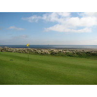 Laytown and Bettystown Golf Club, County Meath, Ireland. The front nine works its way inland, and the holes get longer.