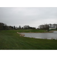 K-Club, County Kildare, Ireland, has some man-made lakes, stocked with fish.