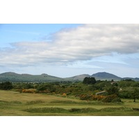 The first nine holes laid out at Pwllheli Golf Club were all set on links property.