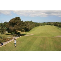 Pwllheli Golf Club features a mix of parkland and links holes.