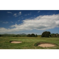 Pwllheli Golf Club features mostly small putting surfaces and bunkers.