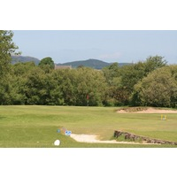 The parkland holes were added in 1909 by James Braid at Pwllheli Golf Club.