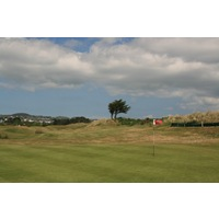 Abersoch Golf Club's front nine plays on firm, undulating dunesland.
