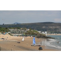 Abersoch is one of north Wales' most popular beach towns.