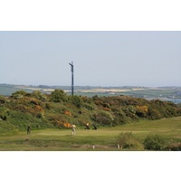 Holyhead Golf Club features thick gorse around many holes.