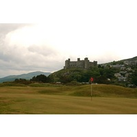 The 15th is one of Royal St. David's trickier holes, featuring a blind shot into the green.