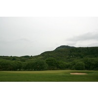 Porthmadog Golf Club's front nine plays inland compared to the links-style back nine.