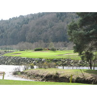 Woodenbridge Golf Club,  County Wicklow, is in one of four valleys that dominate the area.