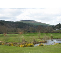 Woodenbridge Golf Club,  County Wicklow is dissected by two rivers.