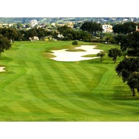 San Roque Club's Old and New courses share similar, rolling parkland terrain just off the Mediterranean Sea.