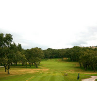 The course starts off with a challenge on No. 1 at Valderrama Golf Club.
