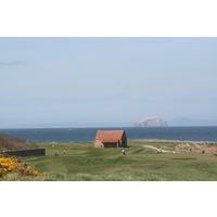 The Bass Rock is just a few miles off shore and visible from most spots on Dunbar Golf Club.