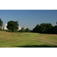 Saint Etienne is one of France's lesser-tourist heavy cities, and the golf course is mostly local play.
