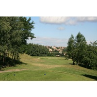 Saint Etienne is a city-owned golf course that was built on the site of a former landfill.