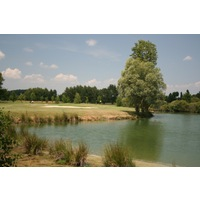 Both the Montaplan and Breuil course have their share of water carries at Golf du Gouverneur.