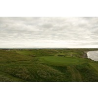 Ballybunion's Old Course features some of links golf's most striking dunes, in play throughout the round.