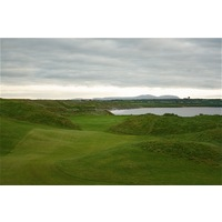 The 11th hole on the Old Course at Ballybunion is a long par 4 that plays along the sea the entire way.