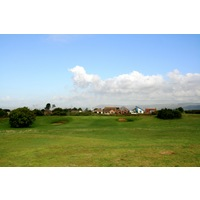 The front nine at Pyle & Kenfig Golf Club is more inland than the back side.