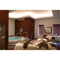 Couples can relax in this treatment room at the K Spa at The K Club.