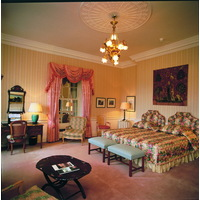 You'll feel like a king or queen in the elegantly decorated rooms in The K Club hotel.