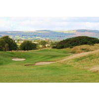 The eighth hole on the Druids Heath golf course comes with soaring countryside views of County Wicklow.
