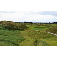 The front nine on the Portmarnock Golf Links ends with a par 3.