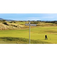 There are plenty of practice areas at Portmarnock Golf Links.