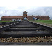 Auschwitz concentration camp.