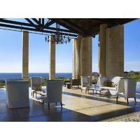 The Romanos is a luxury Starwood-brand property at Costa Navarino.