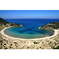 Scenic and peaceful Voidokilia Beach is just minutes from the resort at Costa Navarino.