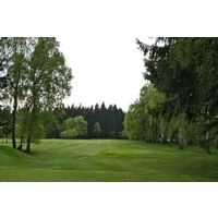 At 201 yards from the back tees, the 13th hole is the longest par 3 at Royal Golf Club Marianske Lazne.